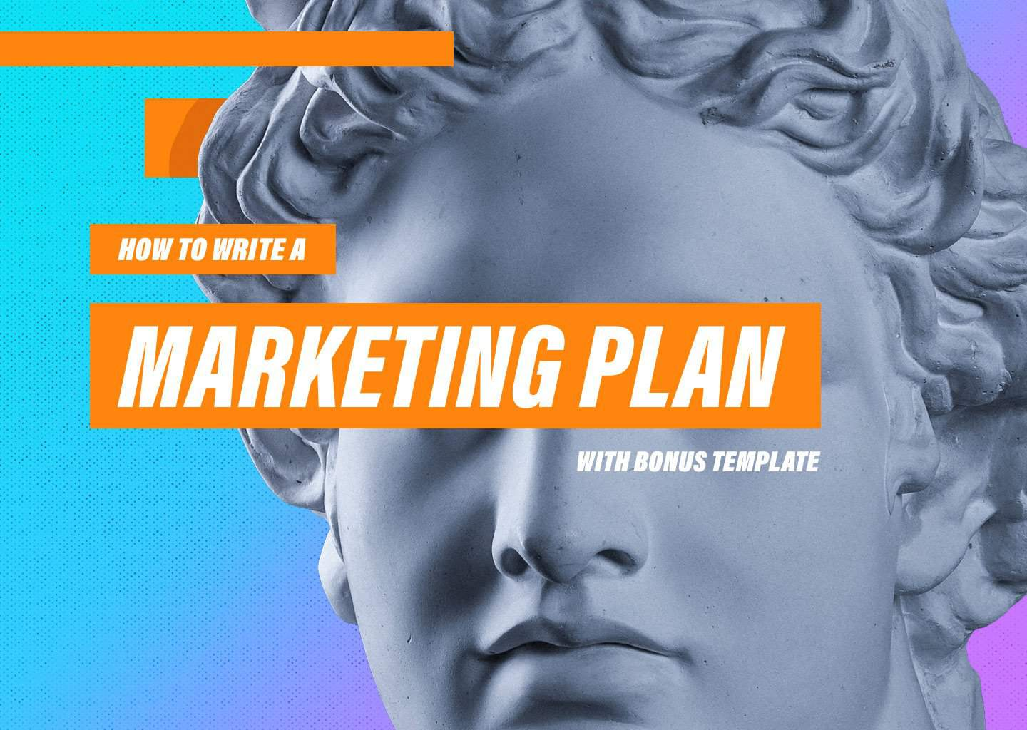 How To Write A Marketing Plan W Sample Templates
